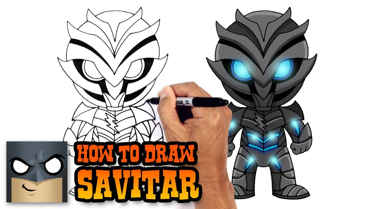 How To Draw Savitar The Flash Youtube