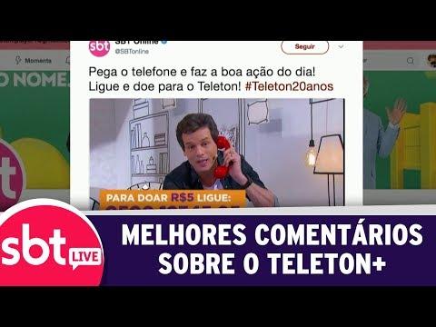 SBT Live Com Teleton+ - Veja Os Melhores Comentários Sobre O Teleton+ | (09/10/17)