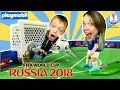 FIFA WORLD CUP RUSSIA 2018 PLAYMOBIL SOCCER ARENA