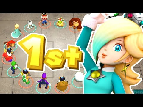 Super Mario Party - Rosalina Wins By Doing Absolutely Nothing