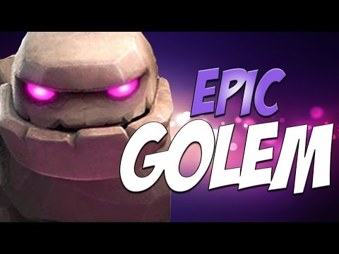 Clash Of Clans - Unlocking Golem!