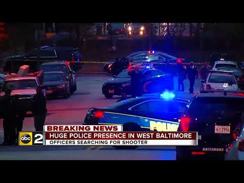 Community reacts to police shooting in West Baltimore