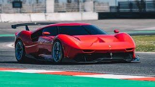 FERRARI P80/C - Une Ferrari de course UNIQUE