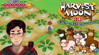 Harvest Moon a New Beginning: Utopia Farm!