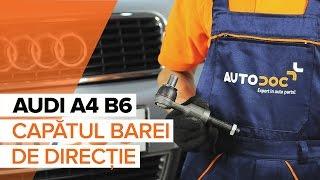 Montare Cap de bara cu propriile mâini - video instrucțiuni pe AUDI A4