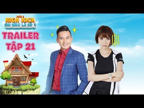 Gia đình là số 1 Phần 2|trailer tập 21: Thúy Diễm nghẹn đắng bất chấp sĩ diện vì sự nghiệp của chồng
