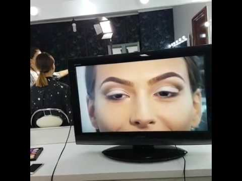 Bridal Make-up. Pencil Technique