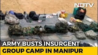 Army Dismantles Hidden Camp Of Insurgent Group NSCN(IM) In Manipur