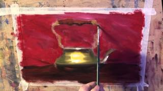 painting metallic objects with warren sealey