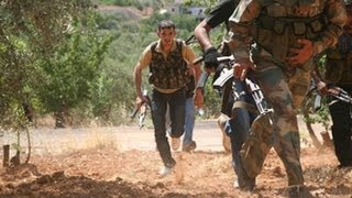 Syrian Rebels Attack Army Positions In City Of Sheikh Miskin | Syrian Civil War
