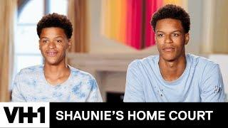 Shaqir Schools Shareef on Trick Shots | Shaunie's Home Court
