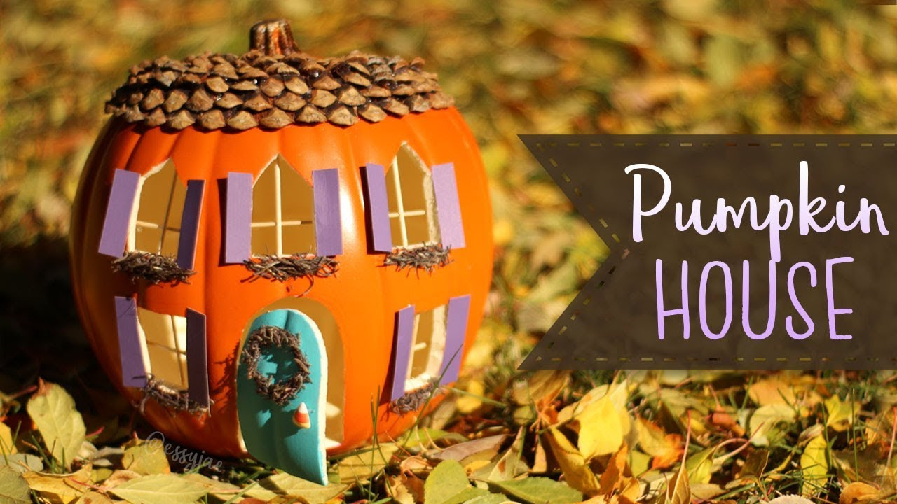 How To Make A Pumpkin House 🎃 Pumpkin Carving Ideas | BOOtorial Pumpkins Easy House Designs on easy egg designs, easy chocolate designs, wedding cake designs, easy cake designs, easy raspberry designs, easy icing designs, easy kiwi designs, easy fruit designs, thanksgiving hand embroidery designs, easy carving, jack o lantern designs, easy cheesecake designs, easy gingerbread man designs, easy strawberry designs, easy drawings of pumpkins, easy jack o lantern patterns, wooden planter designs, easy fondant designs, easy to make pumpkins, easy gourds designs,