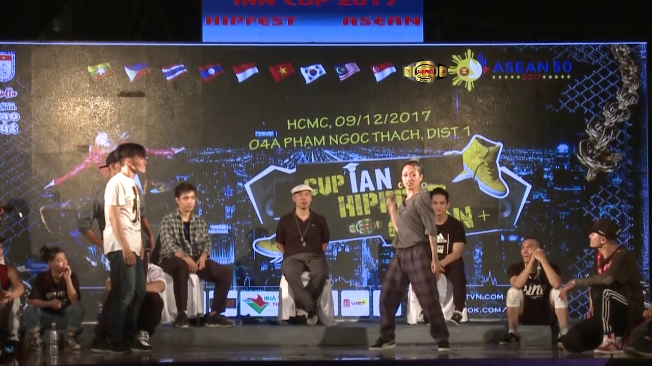 final Anh Cá Voi Đen Tinh Vi – La Difference | Cup iAN Hiipfest Asean 9/12/2017