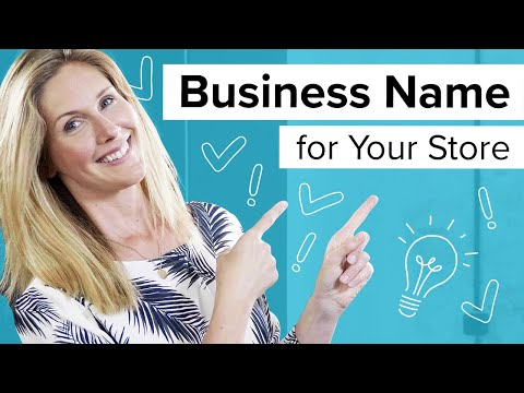 Business Name: Choosing a Name for Your Dropshipping Store