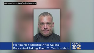 Man Asks Police To Test The Meth He Bought After Having Bad Reaction