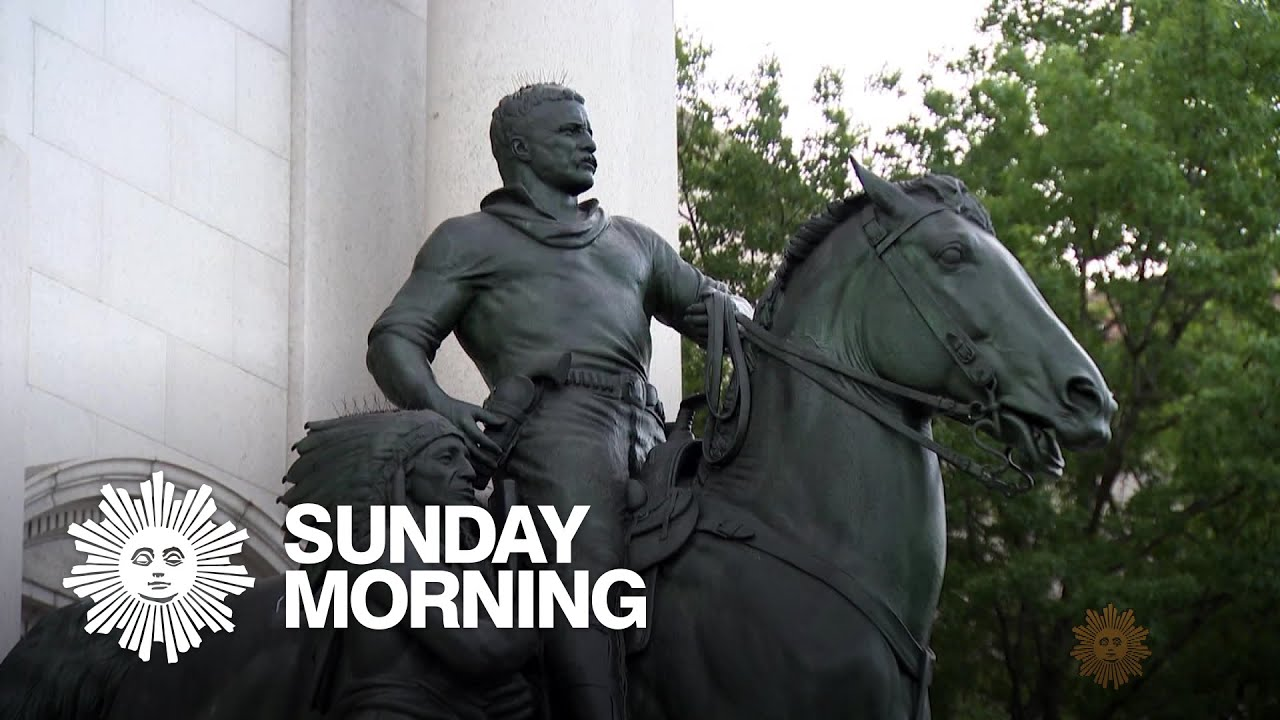 Teddy Roosevelt's great-grandson says remove the statue