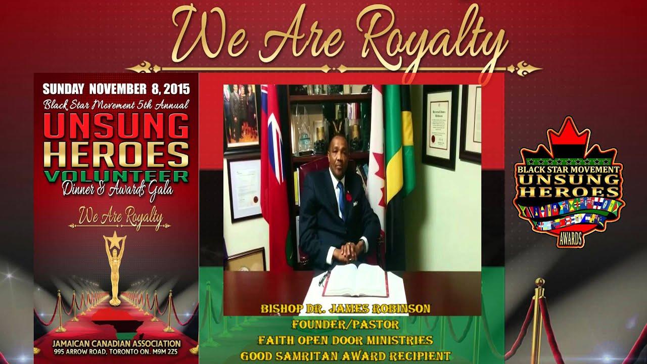 Faith Open Door Ministries - Bishop James Robinson is the 2015 Black Star Movement Recipient & Faith Open Door Ministries - Bishop James Robinson is the 2015 ...