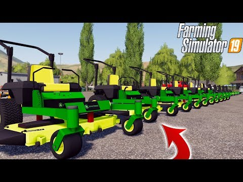 MOWER DEALERSHIP | JOHN DEERE + WALKER | STV MOWING SERVICE | FS19