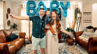 Fun Baby Name Reveal!!!