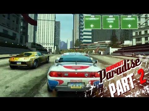 Burnout Paradise - Part 2 - RACE CAR UNLOCKED!