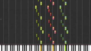 1812 Overture in Synthesia (part 2)