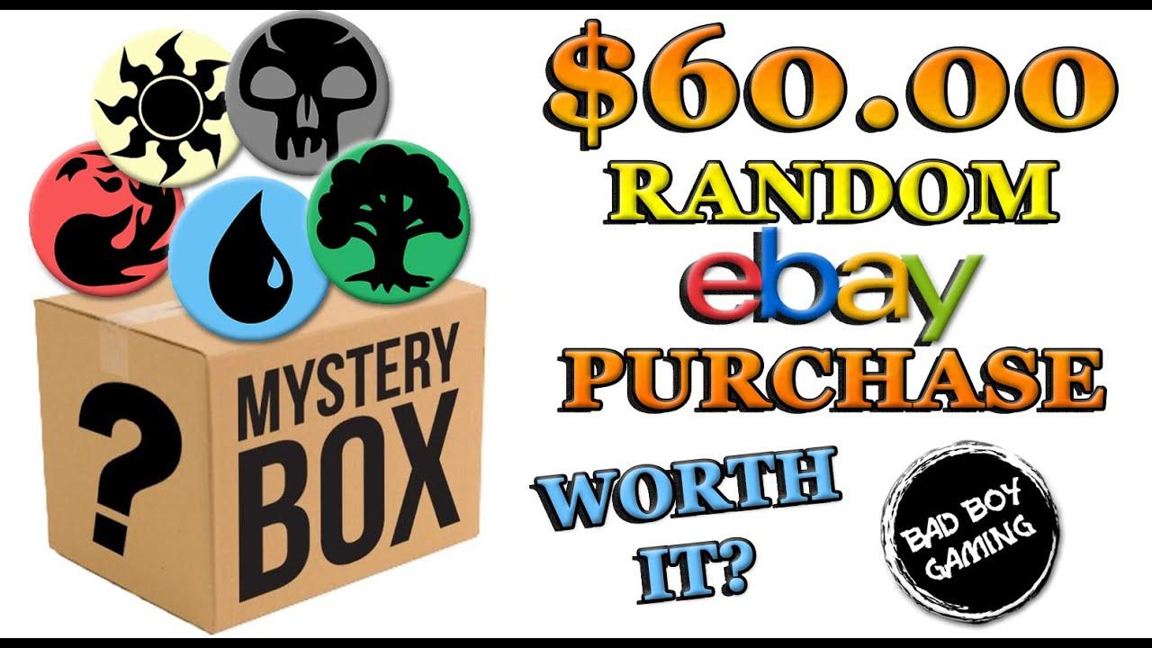 Mtg Mystery Box 60 Random Ebay Purchase Youtube