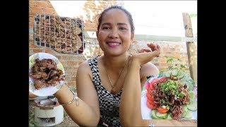Awesome Cooking Pig bowel   Recipe Delicious    Village Food Factory