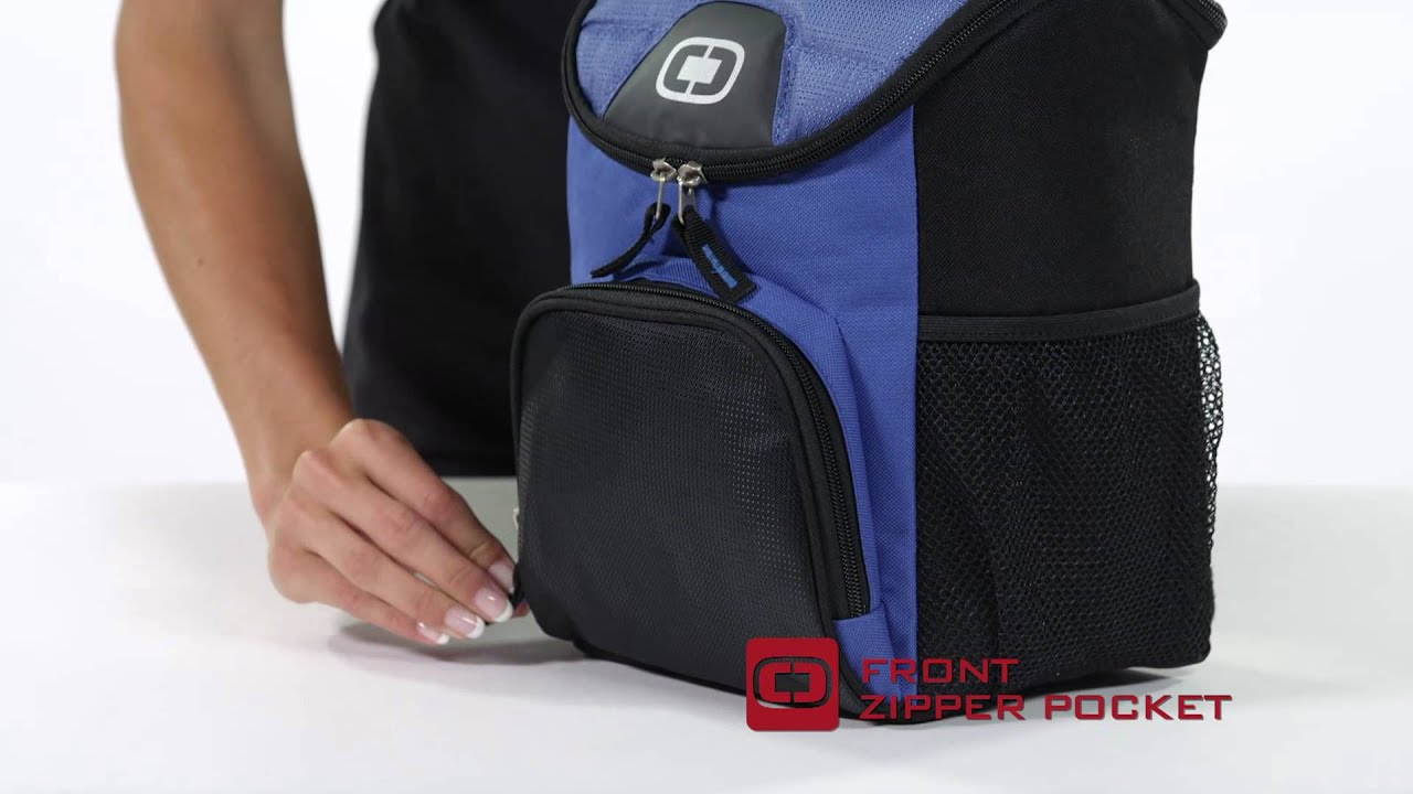 OGIO® Chill 6-12 Can Cooler 408112 - YouTube