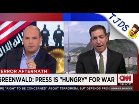 Glenn Greenwald Teaches Journalism To CNN