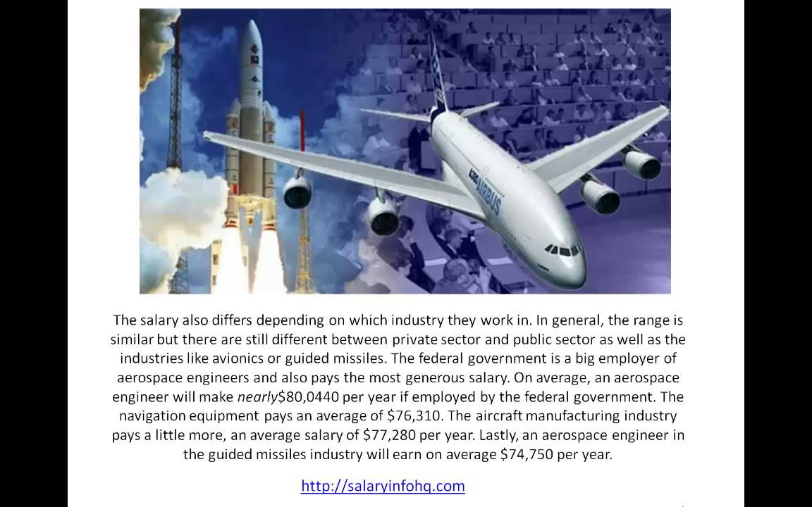 Learn more about Aerospace Engineer Jobs and Salary - YouTube Aerospace Engineering Salary 2014