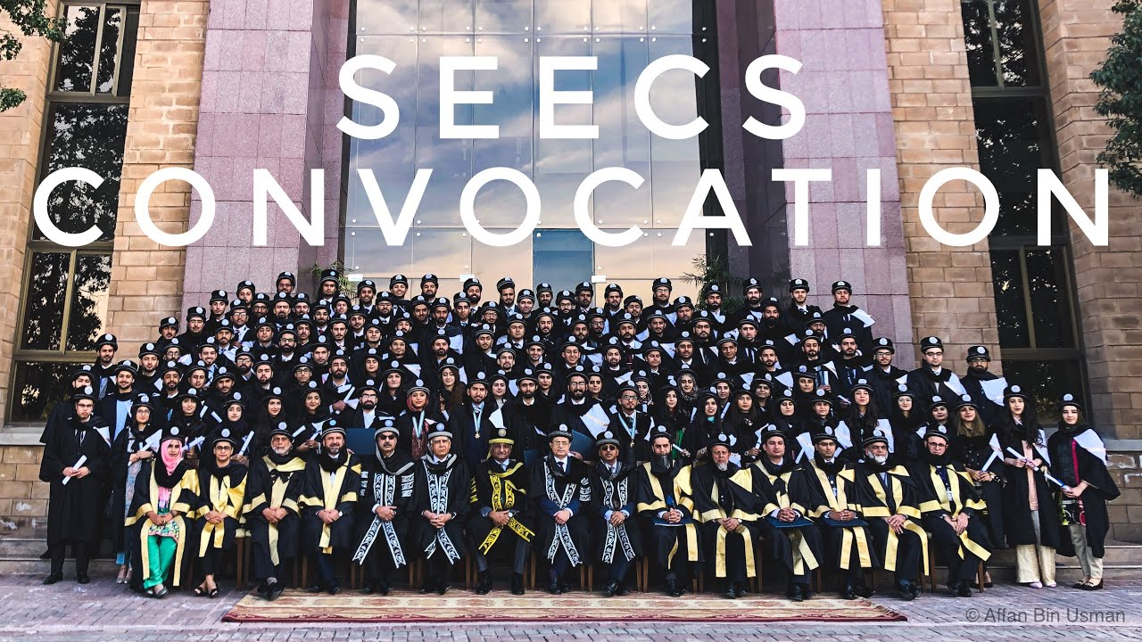 Last SEECS CONVOCATION that ain't ours | NUST