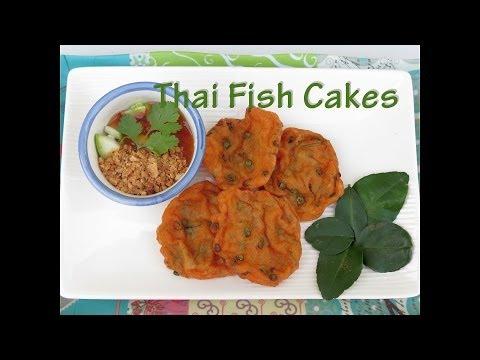 Authentic Thai Fish Cake Recipe