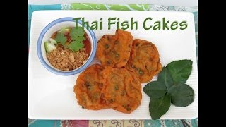 Authentic Thai Fish Cake Recipe