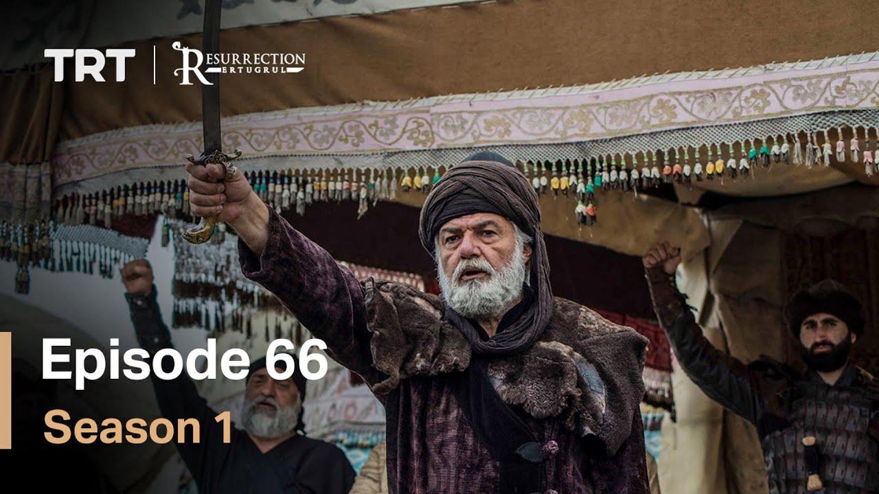 Resurrection Ertugrul Season 1 Episode 66 with English subtitles