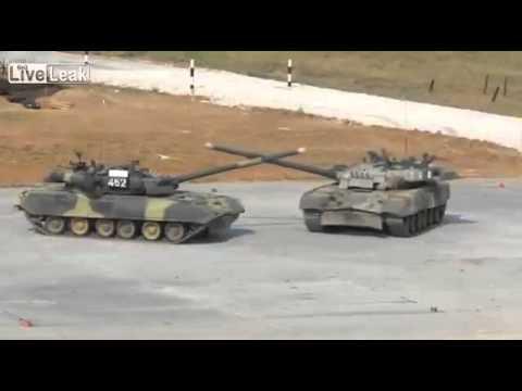 W Rosji ruszył czołgowy biathlon
