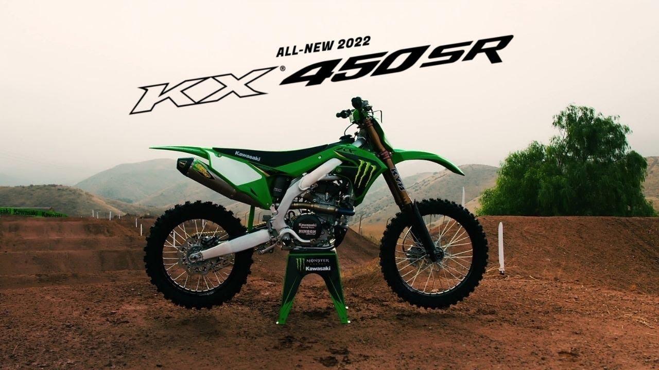 Kawasaki's All New 2022 Limited Edition KX450SR
