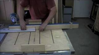 Woodworking Project - How To Make A Drill Press Table