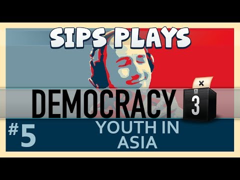 Democracy 3 - The First Term - Part 5 - Youth in Asia