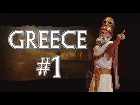 Civilization 6 Gameplay | Greece 🏛️ | Let's Play | Episode 1