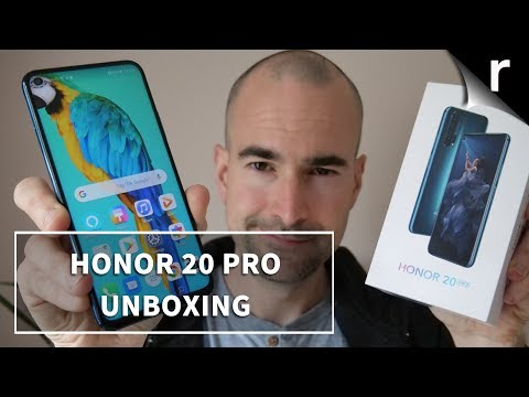 Honor 20 Pro | Unboxing and full tour