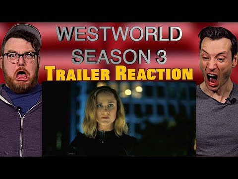 Welcoming Our Robot Overlords   Westworld Season 3 Trailer Reaction