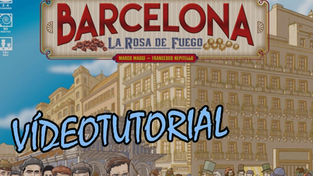 Barcelona la rosa de fuego juego de mesa rese a for Viciados de mesa