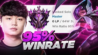 MASTERS KOREA WITH 95% WIN RATE??? *NEW* LEARN TO SMURF LIKE BDD