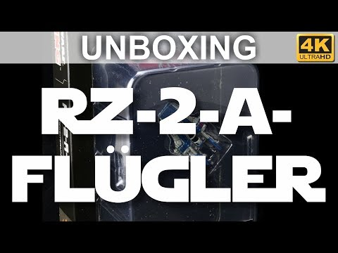Star Wars X-Wing 2. Edition: RZ-2-A-Flügler - Unboxing - RZ-2 A-Wing (4K)