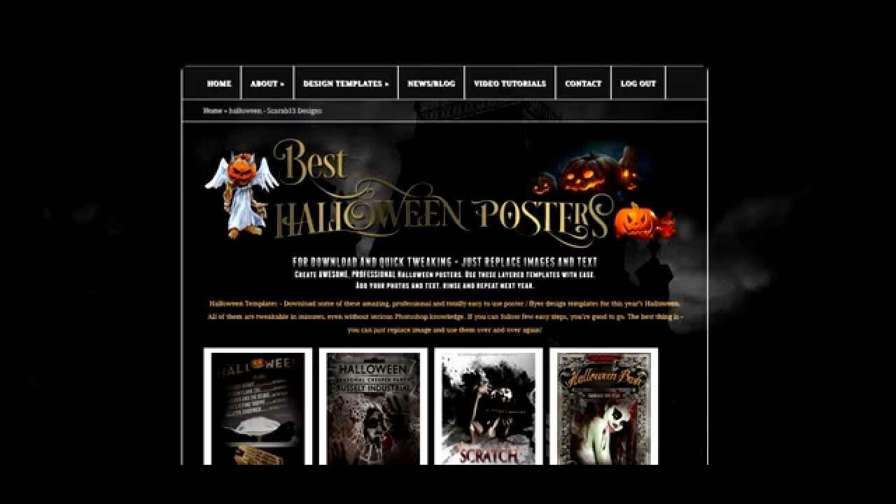 Create horror poster with these 60 best halloween poster templates create horror poster with these 60 best halloween poster templates for download maxwellsz