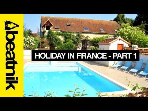 Holiday In France - La Forge Gites - Beatnik Vlog (Part 1)