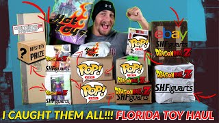 TOY HAUL AND MAIL FROM FLORIDA!!! HOT TOYS, SH FIGUARTS, FUNKO POPS, GAMING HEADS