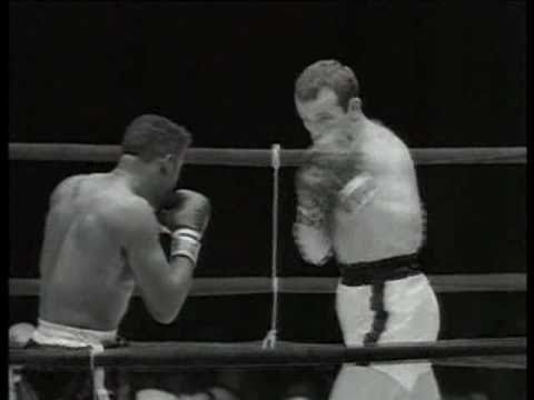 Ingemar Johansson vs Floyd Patterson II - June 20, 1960 - Rounds 1 - 3