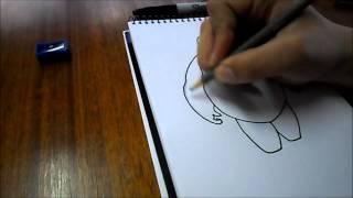 Dibujando a Baymax / Grandes Héroes- Big Hero 6