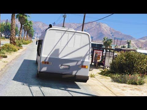 Sandy Shores Bus Driver - Los Santos Goes To Work - Day 56